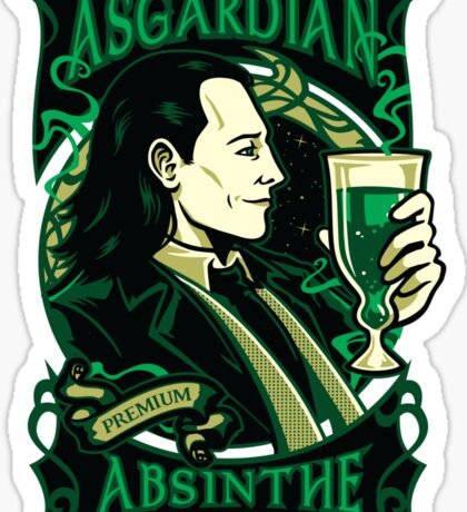 Asgardian Absinthe Sticker