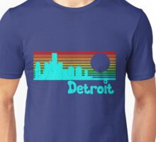 80's Retro Detroit (Distressed Design) Unisex T-Shirt