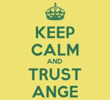 Socceroos - Keep Calm and Trust Ange Kids Clothes
