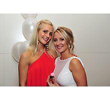 Two Beautiful Girls. Brisbane, Queensland, Australia.  Photographic Print