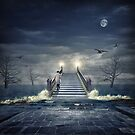 Over troubled waters by Adrian Donoghue