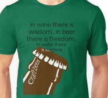 In Beer there is freedom Unisex T-Shirt