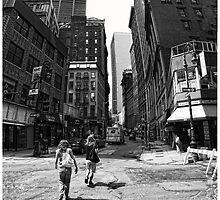 Lower Manhattan Serenade by steeber