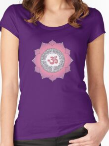 Aum 5 Women's Fitted Scoop T-Shirt