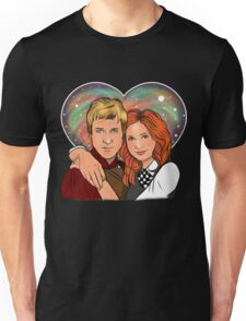 Heart Shaped Universe Unisex T-Shirt