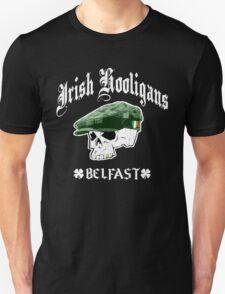 Irish Hooligans - Belfast, Ireland (Distressed Design) T-Shirt