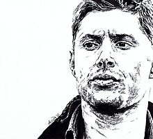 Dean Winchester by AfroTriangle