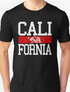 California Bear Flag (Distressed Design) T-Shirt