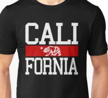 California Bear Flag (Distressed Design) Unisex T-Shirt