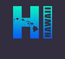 Big Blue Hawaii (Distressed Design) Unisex T-Shirt