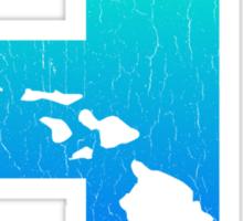 Big Blue Hawaii (Distressed Design) Sticker
