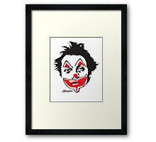 Why So Sad, Clown? Framed Print