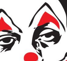 Why So Sad, Clown? Sticker