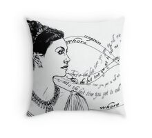 Inara Throw Pillow