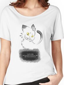 The Cryptic Cat, The Judge Women's Relaxed Fit T-Shirt