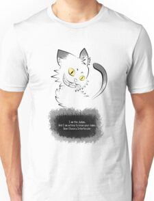 The Cryptic Cat, The Judge Unisex T-Shirt