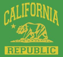 California Bear Republic (Vintage Distressed) One Piece - Short Sleeve