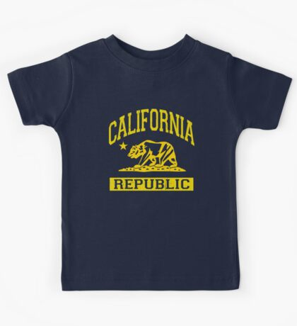 California Bear Republic (Vintage Distressed) Kids Tee