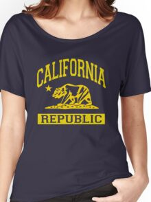 California Bear Republic (Vintage Distressed) Women's Relaxed Fit T-Shirt