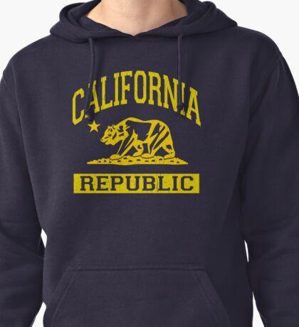 California Bear Republic (Vintage Distressed) Pullover Hoodie