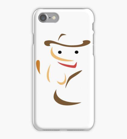 Minimalist Billy the Kitten iPhone Case/Skin