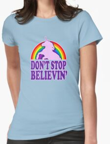 Don't Stop Believin' in Unicorns (Vintage Distressed) T-Shirt