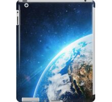 Planet Earth with blue hue - Space iPad Case/Skin