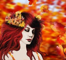 Autumn Goddess by LKBurke29