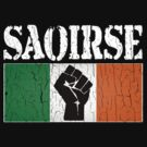 SAOIRSE - Freedom for Ireland (Vintage Distressed) by robotface