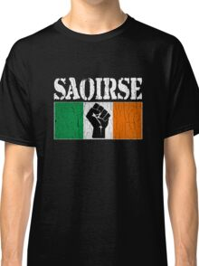 SAOIRSE - Freedom for Ireland (Vintage Distressed) Classic T-Shirt