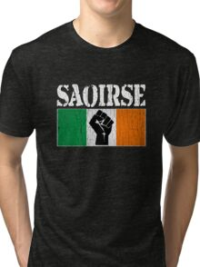 SAOIRSE - Freedom for Ireland (Vintage Distressed) Tri-blend T-Shirt