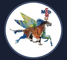 Exxon Mobile Hybrid Tiger Pegasus by O O
