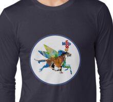 Exxon Mobile Hybrid Tiger Pegasus Long Sleeve T-Shirt