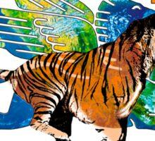 Exxon Mobile Hybrid Tiger Pegasus Sticker