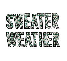 Sweater Weather Photographic Print
