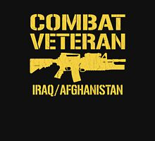 Combat Veteran Iraq and Afghanistan (Vintage Distressed) T-Shirt