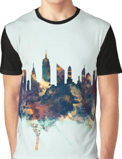New York City Skyline Graphic T-Shirt