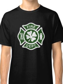 Irish Fire Department (Vintage Distressed) Classic T-Shirt