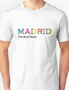 Madrid, the real team T-Shirt