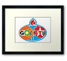 Golieth Framed Print