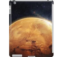 Red planet - Space iPad Case/Skin