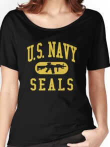 US Navy SEALS (Vintage Distressed Design) Women's Relaxed Fit T-Shirt