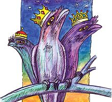 kmay xmas frogmouth kings by Katherine May