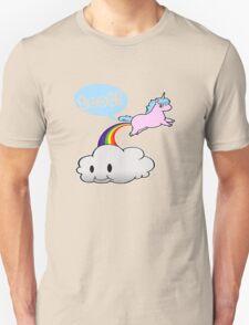 Toot! Cute Unicorn Fart (Vintage Distressed Design) T-Shirt