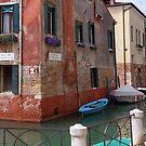 Rio De Le Muneghte, Venice by roger smith