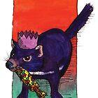 kmay xmas tassie devil cracker by Katherine May