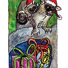 kmay xmas brushtailed possum by Katherine May