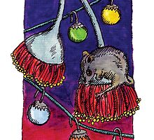 kmay xmas honey possum by Katherine May
