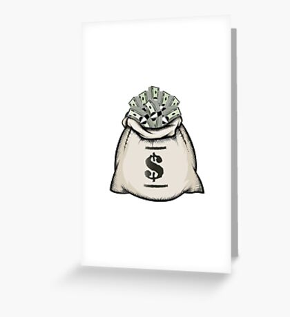 Money Bag Greeting Card