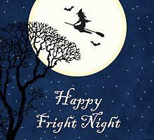Halloween Witch - Happy Fright Night  by RumourHasIt